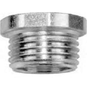 "American Fittings Corp CN50 Chase Nipple, Size: 1/2"", Material/Finish: Steel/Zinc"