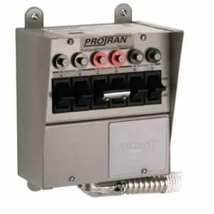 Reliance Controls 31406B Transfer Switch, Pro/Tran, 20A, 250V AC/DC, 7.5 kW, 1PH, 6 Circuit