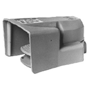 Square D 9002AW132 Foot Switch, Oversized Shield, 5A, 600V AC/DC, Yellow, Momentary