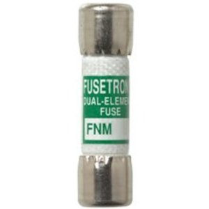 "Eaton/Bussmann Series FNM-25 Fuse, 25 Amp Time-Delay Ferrule, Fibre, 13/32"" x 1-1/2"", 250V"