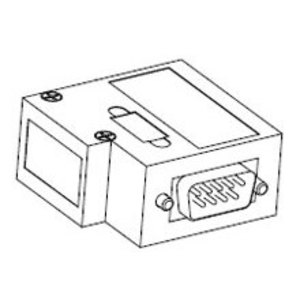 Woodhead MA9D00-32 DSUB 9P ATTCH V/H