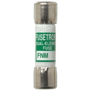 "Eaton/Bussmann Series FNM-15 Fuse, 15 Amp, Time-Delay, Ferrule, Fiber, 13/32"" x 1-1/2"", 250V"