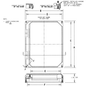 Carlon NI108W 10x8 Hng Window Kit