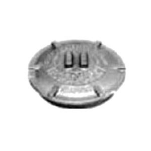 "Appleton GRK-1M Conduit Outlet Box Cover, Diameter: 3.38"", Malleable Iron"