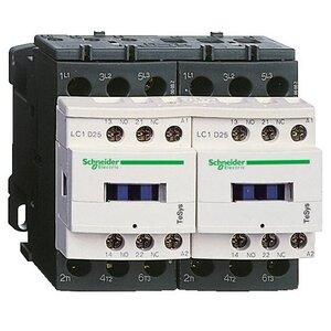 Square D LC2D12G7V Contactor, Reversing, 12A, 3P, 600VAC, 300VDC, 120VAC Coil