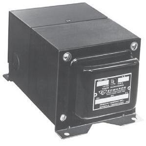 Edwards 88-100 Transformer, 120VAC-24VAC, 100VA, 120VAC-12VAC 50VA, Signaling