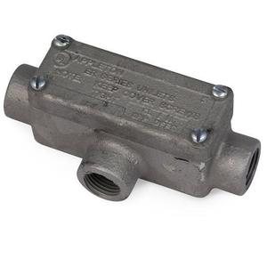 "Appleton ERT75 Explosionproof Conduit Body, Type: T, 3/4"" Malleable Iron"