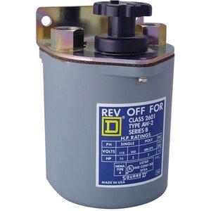 Square D 2601AW2 Manual Starter, Drum Switch, Reversing, 3P, 600VAC, 250VDC, NEMA 4