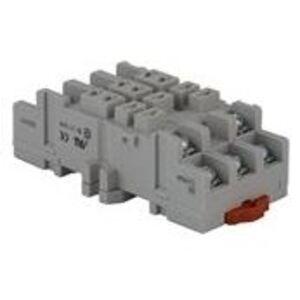 GE CR420HA Relay Socket, Plug In , 8-Pin, Type H