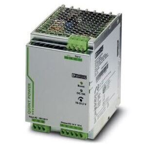 Phoenix Contact 2866776 Power Supply, DIN Rail Mount, 100-240VAC Input, 24VDC Output, 20A