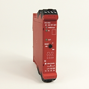 Allen-Bradley 440R-S12R2 Relay, Safety, Single Input, 1 Dual Channel Input, 1NC Auxiliary