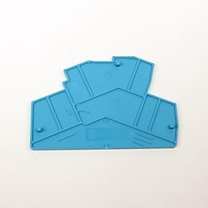 Allen-Bradley 1492-EBLD4-B Terminal Block, End Barriers, Spring Clamp Type, Blue