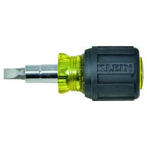 Klein 32561 Multi-Bit Stubby Screwdriver/Nut Driver
