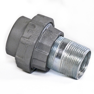 "Appleton UNY500R Union, Male/Female, Size: 5"", Malleable Iron/Zinc"