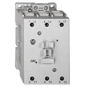 Allen-Bradley 100-C60KJ00 Contactor, IEC, 60A, 3P, 110VAC Coil, No Auxiliary Contacts