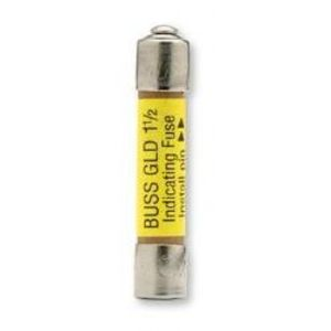 "Eaton/Bussmann Series GLD-10 10 Amp Pin-Indicating Type Non-Time Delay Fuse, 1/4"" x 1-1/4"", 50V"