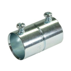"Steel City TK122A Set Screw Coupling, 3/4"", Steel"