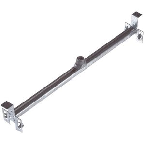 "Steel City 6011ADW-25 Adjustable Bar Hanger with Fastener, 14-1/2 to 26-1/2"", Steel"