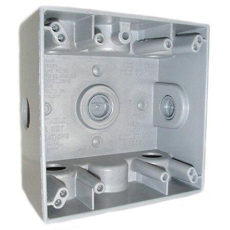 Mulberry Metal - 30266, 2-Gang Boxes - Metallic, Covers, Weatherproof,  Enclosures - Platt Electric Supply