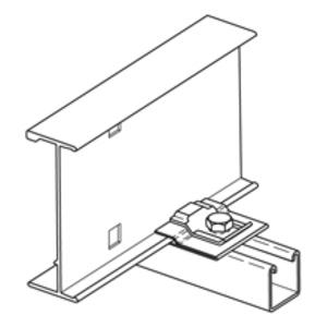 Cooper B-Line 99-PE34 Isolator Pad, UV Resistant HDPE, White
