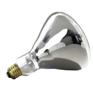 Halco 204035 Incandescent Heat Lamp, BR40, 125W, 120V