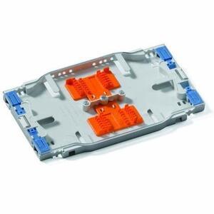 Leviton T5PLS-12F Splice Tray, 12 Fiber, Injection Molded, Mini, Inside Enclosure