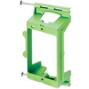ON-Q AC1009-01 Mounting Bracket, 1-Gang, Low Voltage, Non-Metallic