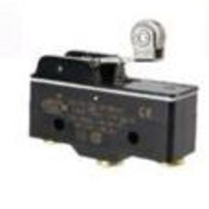 Micro Switch BZ-2RW82255-A2-S Switch, Basic, Roller Lever, 15A, 250VAC, 1PDT, Screw Terminal