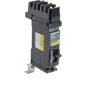 Square D FA14030A Breaker, Molded Case, 30 Amp, 1-Pole, 277 Volt AC, 125 Volt DC, A Phase