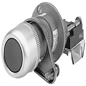 Allen-Bradley 800H-AP1D1 Push Button, Flush Head, Green, NEMA 7/9, 1NO, Contact