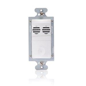 Wattstopper CU-250-W Ultrasonic Multi-Way Wall Switch Vacancy Sensor, White