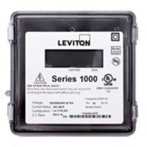 Leviton 1R240-21 200A, 1P, Series 1000, Dual Element Meter