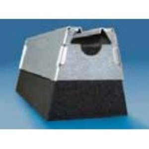 Erico Caddy RPS50AHSV Rooftop Pipe Support, Height: 57 mm, Plenum Rated, Polyester/Non-Metallic