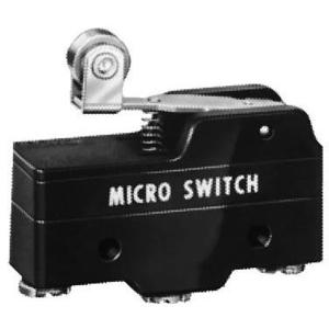 "Micro Switch BZ-2RW822-A2 Switch, Basic, Roller Lever, 1.05"" Long, 15A, 250VAC, 1PDT"