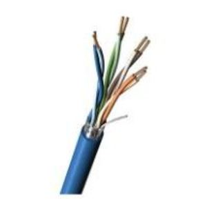 Belden 7958A-010-1000 Riser, Category 5e, 24 AWG - 4 Pair, Blue