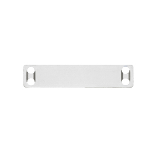 "Panduit MMP350-C316 Marker Plate, Stainless Steel, Natural Color, 3/4"" x 3-1/2"""