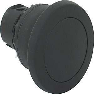 Allen-Bradley 800FP-MM42 Push Button, 40mm Mushroom Head, Black, Momentary, Plastic