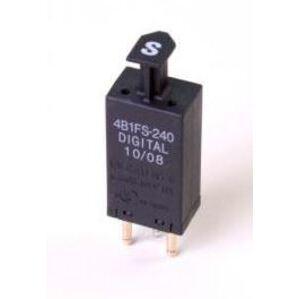 Circa Telcom 4B1FS-240 Surge Protector, 5 Pin, Digital, Solid State, UL497, 240VAC, PTC