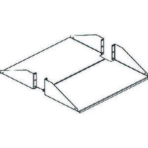 Chatsworth 40751-719 Double-Sided Shelf, Steel, Black