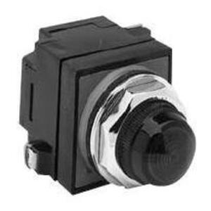 GE CR104PLG92G Indicator Light, Green, LED, 120VAC/DC, 6V Lamp