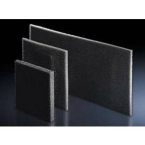 Rittal 3286400 Filter Mat, Thickness: 10 mm, Open Celled Polyurethane