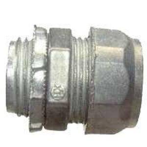 Hubbell-Raco 2903 EMT Compression Connector, Steel, 3/4 inch