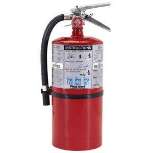 BRK-First Alert PRO10 Fire Extinguisher, 10 Lb Dry Powder, Heavy-Duty