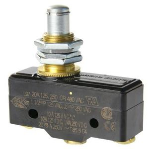 Micro Switch BA-2RQ1-A2 Switch, Premium, Plunger, SPDT, 20A @ 250VAC, Screw Terminals