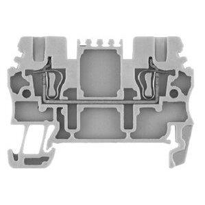 Allen-Bradley 1492-L2-OR Terminal Block, Feed Through, 15A, 300V AC/DC, Orange, 4mm