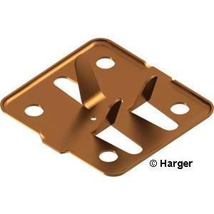 Harger Lightning & Grounding 262T Tin Adhesive Cable Holder