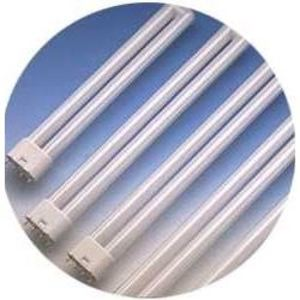 SYLVANIA FT18DL/835/RS/ECO Compact Fluorescent Lamp, 4-Pin, Dulux L, 18W, 3500K