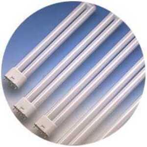 SYLVANIA FT18DL/835/ECO Compact Fluorescent Lamp, 4-Pin, Dulux L, 18W, 3500K