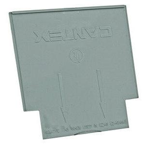Hubbell-Raco 7700RAC Partition, Low Voltage, Gray, Non-Metallic