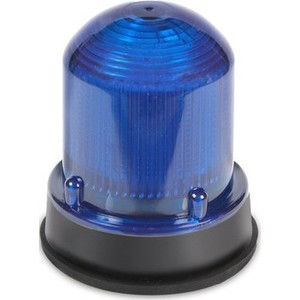 Edwards 125LEDSR120AB Beacon, LED, Steady-On, 120V AC, Red